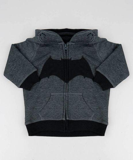 Blusao-Infantil-Batman-com-Capuz-em-Moletom-Cinza-Mescla-Escuro-9336111-Cinza_Mescla_Escuro_1