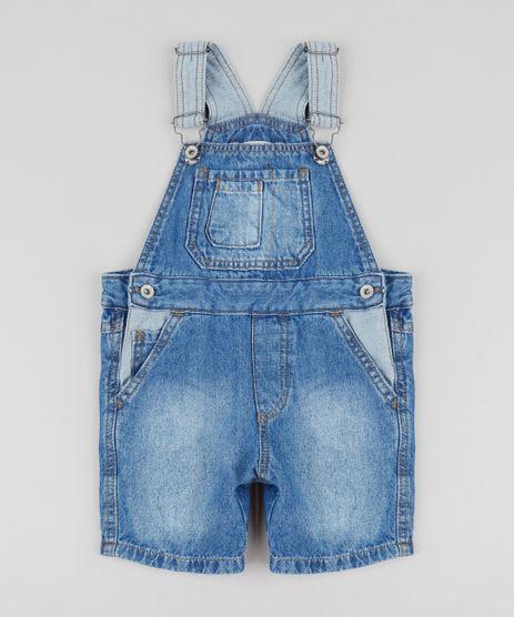 Jardineira-Jeans-Infantil-com-Bolsos-Azul-Medio-9435471-Azul_Medio_1