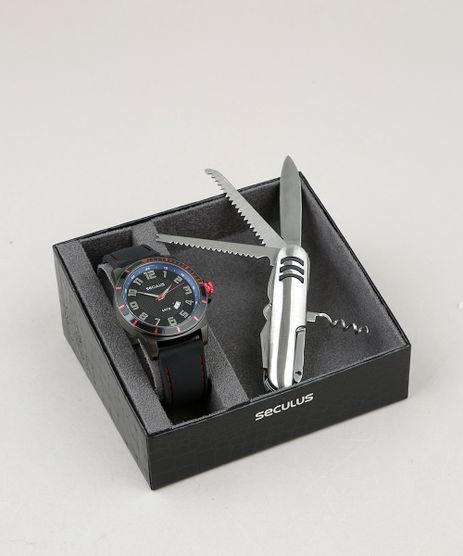 Kit-de-Relogio-Analogico-Seculus-Masculino---Canivete---28996GPSVPI1K-Grafite-9553468-Grafite_1