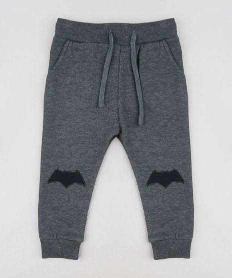 Calca-Infantil-Batman-em-Moletom-Cinza-Mescla-Escuro-9358066-Cinza_Mescla_Escuro_1