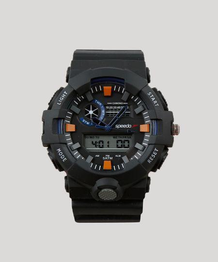 015e3733b Relógio Digital Speedo Masculino - 81181G0EVNP1 Preto - cea