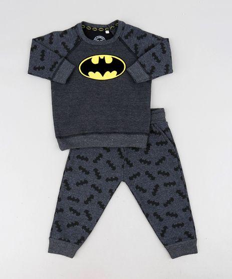 Conjunto-Infantil-Batman-de-Blusao-Raglan---Calca-Estampada-em-Moletom-Cinza-Mescla-Escuro-9472625-Cinza_Mescla_Escuro_1