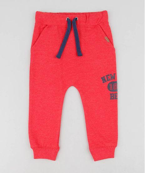 Calca-Infantil-Saruel--New-York--em-Moletom-Vermelha-9356521-Vermelho_1