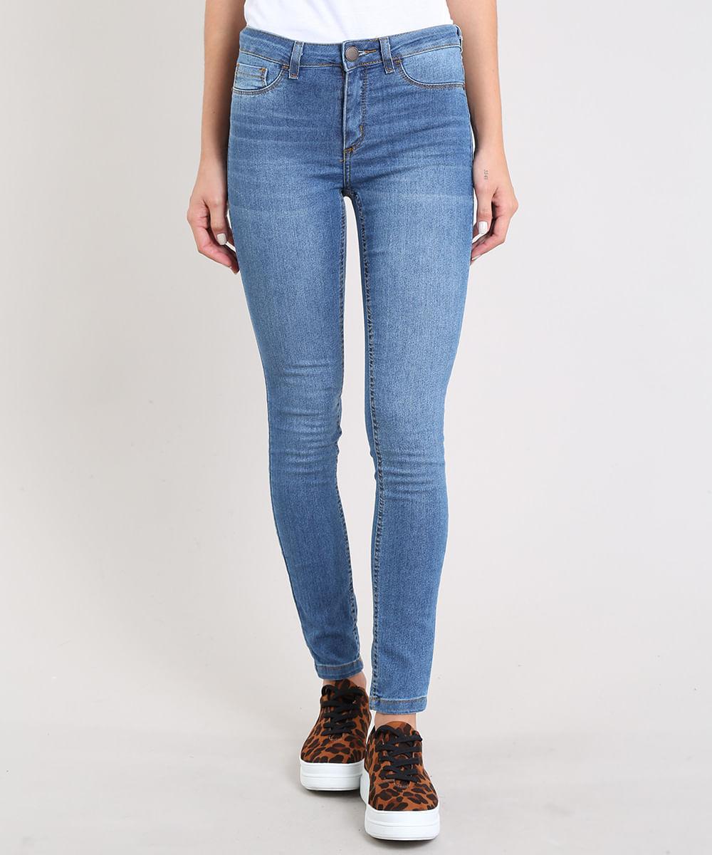 599d46100 ... Calca-Jeans-Feminina-Cigarrete-Azul-Medio-9311748-Azul_Medio_1