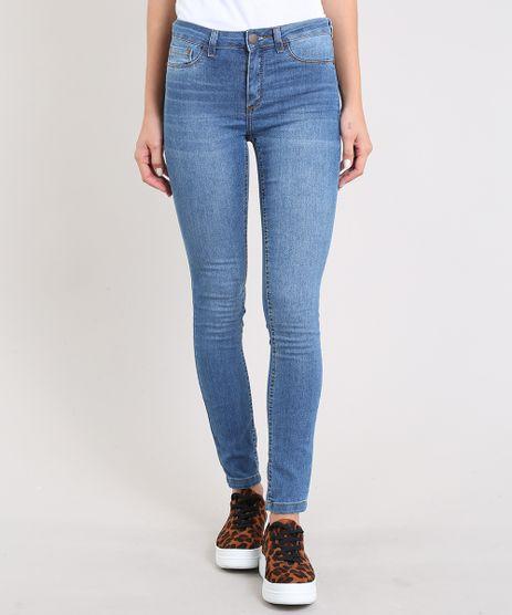 Calca-Jeans-Feminina-Cigarrete-Azul-Medio-9311748-Azul_Medio_1