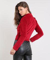 8281a6097 ... Jaqueta-Feminina-Biker-em-Veludo-Vermelha-9366404-Vermelho_1 ...