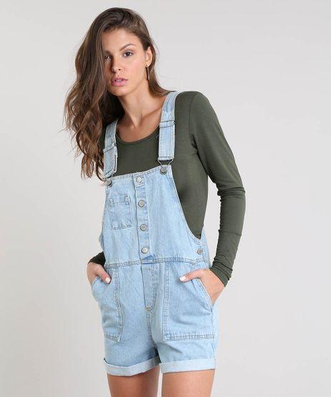 Jardineira-Jeans-Feminina-com-Barra-Dobrada-Azul-Claro-9534873-Azul_Claro_1