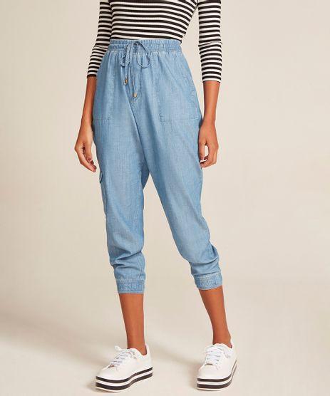 Calca-Jeans-Feminina-Jogger-Cargo-Azul-Claro-9532124-Azul_Claro_1
