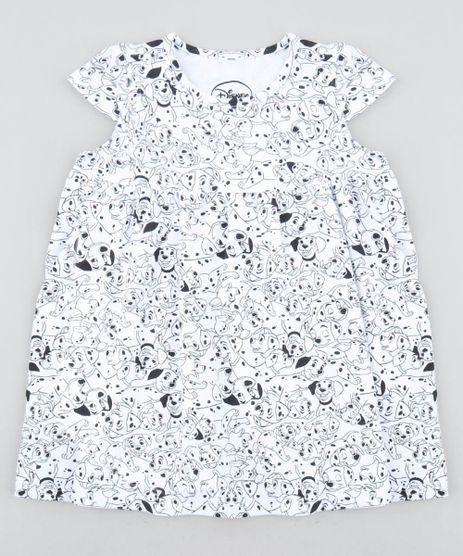 Vestido-Infantil-101-Dalmatas-Estampado-com-Babado-Manga-Curta-Off-White-9415470-Off_White_1