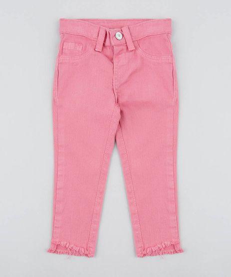 Calca-Color-Infantil-com-Barra-Desfiada-Rosa-Escuro-9419199-Rosa_Escuro_1