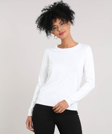 Sueter-Feminino-em-Trico-com-Strass-Off-White-9425752-Off_White_1