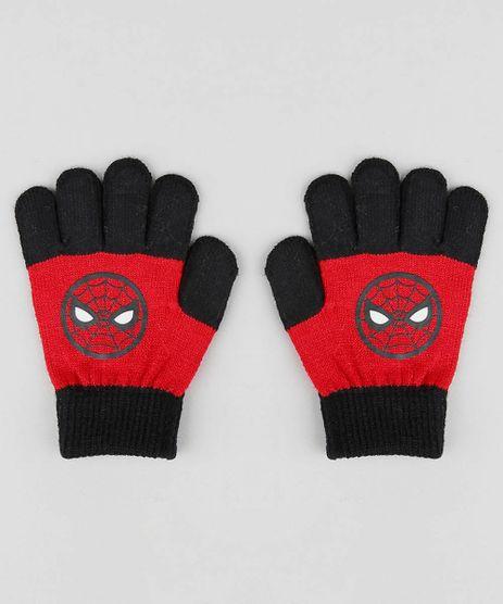 Luva-Infantil-Homem-Aranha-em-Trico-Vermelha-9360873-Vermelho_1