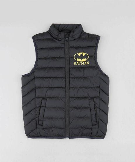 Colete-Infantil-Puffer-Batman-com-Bolsos-Preto-9348604-Preto_1