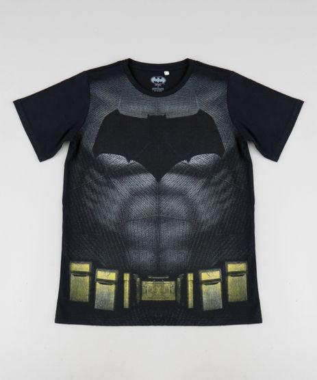 Camiseta-Infantil-Batman-Manga-Curta-Gola-Careca-Preto-9393821-Preto_1