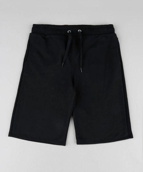 Bermuda-Infantil-Basica-em-Moletom-Preta-9272834-Preto_1