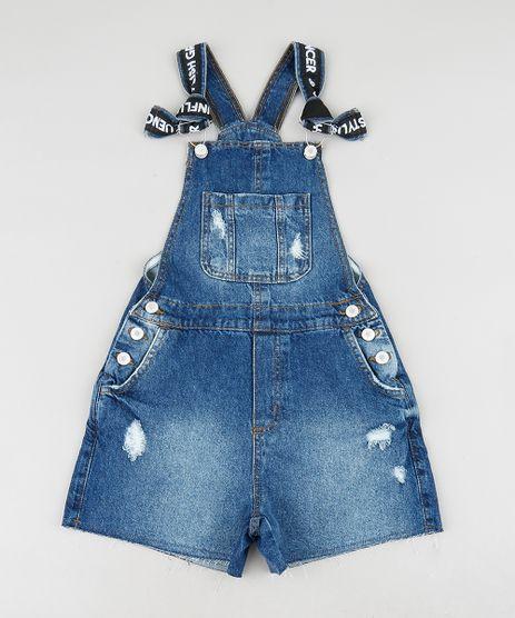Jardineira-Jeans-Infantil-com-Puidos-Azul-Escuro-9413243-Azul_Escuro_1