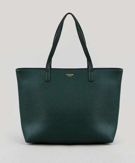 124cabcd9 Bolsa-Feminina-Shopper-Grande-Verde-Escuro-9250984-Verde_Escuro_1