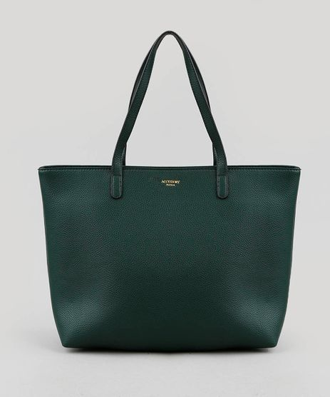 fbb53c7e7 Bolsa-Feminina-Shopper-Grande-Verde-Escuro-9250984-Verde_Escuro_1