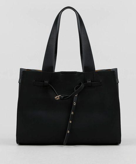 Bolsa-Feminina-Tote-Grande-com-Fivela-e-Ilhos-Verde-Escuro-9379097-Verde_Escuro_1