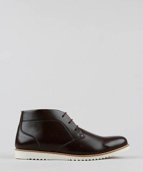 bdff44c23e Sapato-Masculino-Cano-Alto-Marrom-Escuro-9530295-Marrom Escuro 1