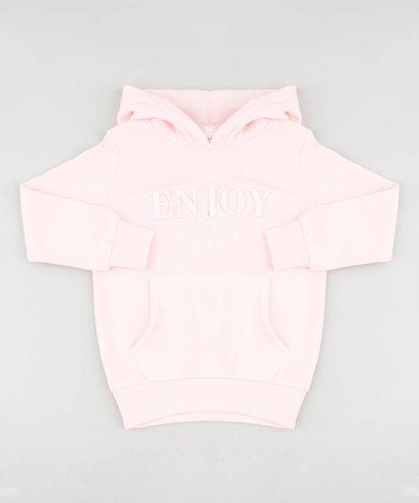 Blusao-Infantil--Enjoy--com-Capuz-e-Bolso-em-Moletom-Rosa-Claro-9433654-Rosa_Claro_1