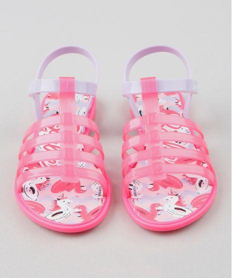 2053bf9d5 Sandalia-Infantil-Grendene-Barbie-Rosa-Neon-9511489-Rosa Neon 1