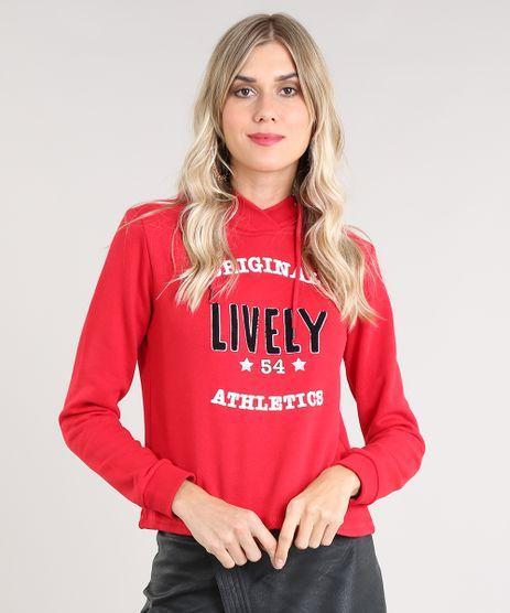 Blusao-Feminino--Lively--com-Capuz-em-Moletom-Vermelho-9417157-Vermelho_1