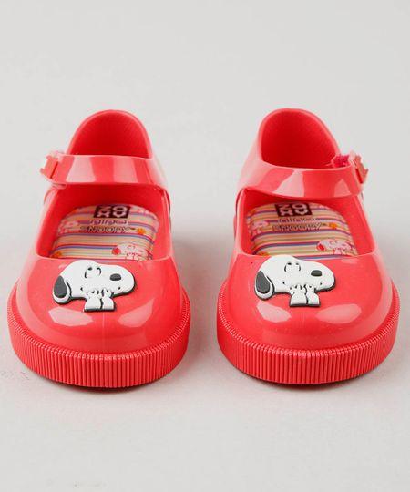 1faf285fbb Menor preço em Sapatilha Infantil Zaxy Nina Snoopy Vermelha