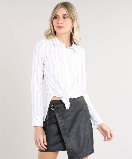 Camisa-Feminina-Listrada-com-Bolso-Manga-Longa-Off-White-9364255-Off_White_1