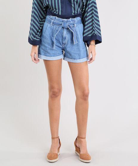 Short-Jeans-Feminino-Clochard-com-Barra-Dobrada-Azul-Claro-9532129-Azul_Claro_1