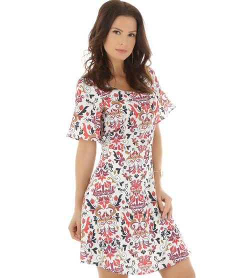 361607879b Vestido-Estampado-Floral-Off-White-8469036-Off White 1