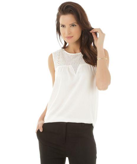 38b1980193 Regata-com-Renda-Off-White-8351751-Off White 1