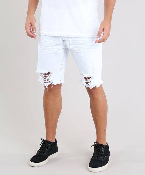 Bermuda-Jeans-Masculina-Slim-com-Rasgos-Azul-Claro-9448052-Azul_Claro_1