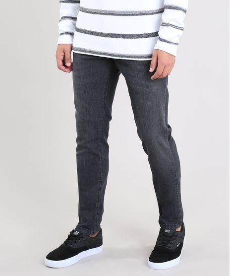 12ec03dda Calca-Jeans-Masculina-Slim-Preta-8469585-Preto_1