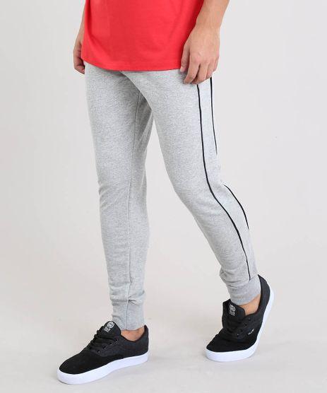 Calca-Masculina-Jogger-em-Moletom-com-Vivo-Contrastante-Cinza-Mescla-9539576-Cinza_Mescla_1