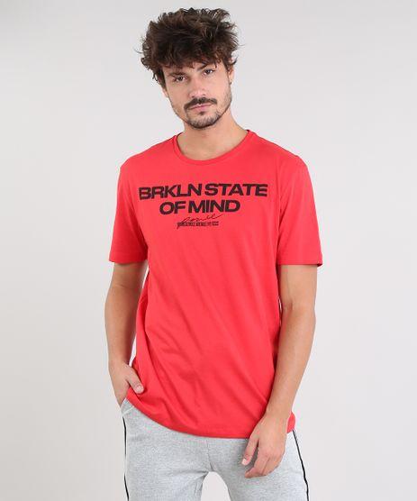 Camiseta-Masculina--State-of-Mind--Manga-Curta-Gola-Careca-Vermelha-9434503-Vermelho_1