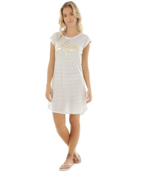 08dddb20a Camisola-Listrada--Love--Off-White-8481695-Off White 1