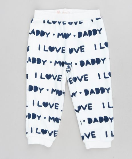 Calca-Infantil--I-Love-Mom---Daddy--em-Plush-Branca-9195542-Branco_1