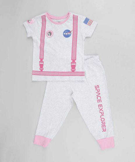 Pijama-Infantil-Estampado-Lunar-Manga-Curta-Cinza-Mescla-Claro-9476364-Cinza_Mescla_Claro_1