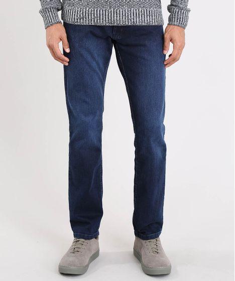 cc9e30674c Calca-Jeans-Masculina-Reta-Azul-Escuro-8700146-Azul Escuro 1 ...