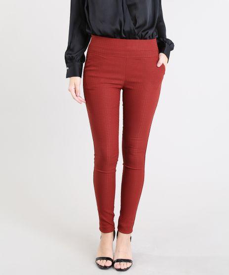 Calca-Legging-Feminina-Texturizada-Pied-de-Poule-Cobre-9413034-Cobre_1