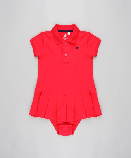 Vestido-Infantil-Polo-em-Piquet---Calcinha-Rosa-9205039-Rosa_1