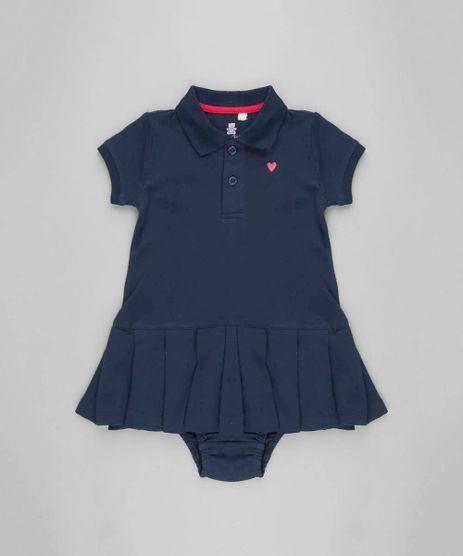 Vestido-Infantil-Polo-em-Piquet---Calcinha-Azul-Marinho-9205040-Azul_Marinho_1