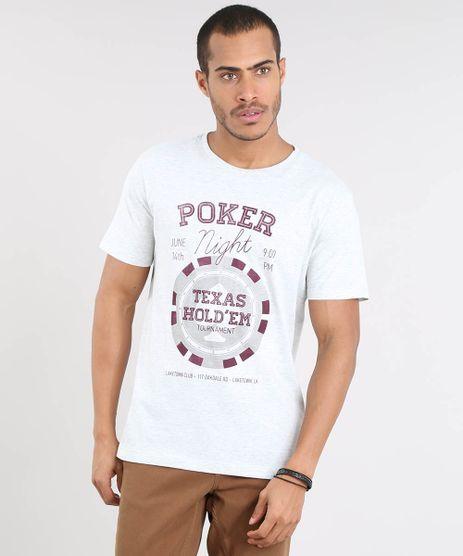 Camiseta-Masculina--Poker-Night--Manga-Curta-Gola-Careca-Cinza-Mescla-Claro-9447387-Cinza_Mescla_Claro_1