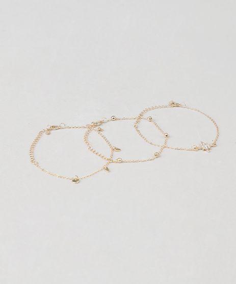 Kit-de-3-Pulseiras-Femininas-Fases-da-Lua-Dourado-9435999-Dourado_1