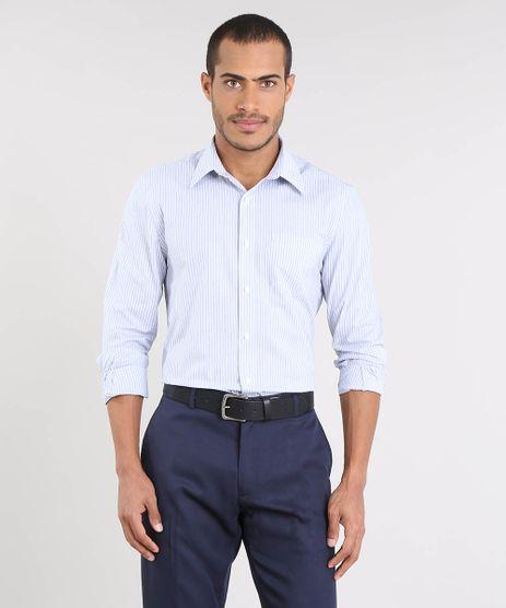 Camisa-Masculina-Comfort-Listrada-com-Bolso-Manga-Longa-Off-White-9430718-Off_White_1