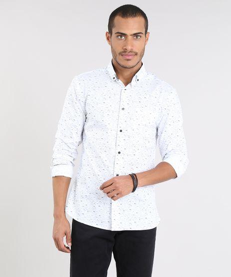 Camisa-Masculina-Slim-Estampada-com-Bolso-Manga-Longa-Off-White-9372492-Off_White_1