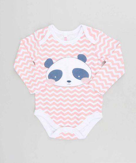 Body-Infantil-Panda-Estampado-Chevron-Manga-Longa-Decote-Redondo-Rosa-9188417-Rosa_1