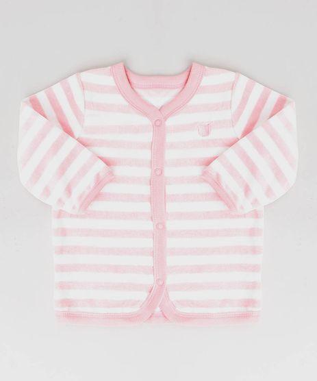 Cardigan-Infantil-em-Plush-Listrado-Off-White-9195544-Off_White_1