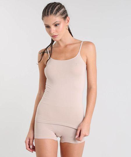 f8d137078 Menor preço em Regata Camiseta Trifil Sem Bojo Sem Costura Bege